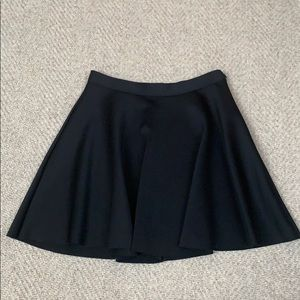 Woman's Abercrombie and Fitch Black Mini Skirt